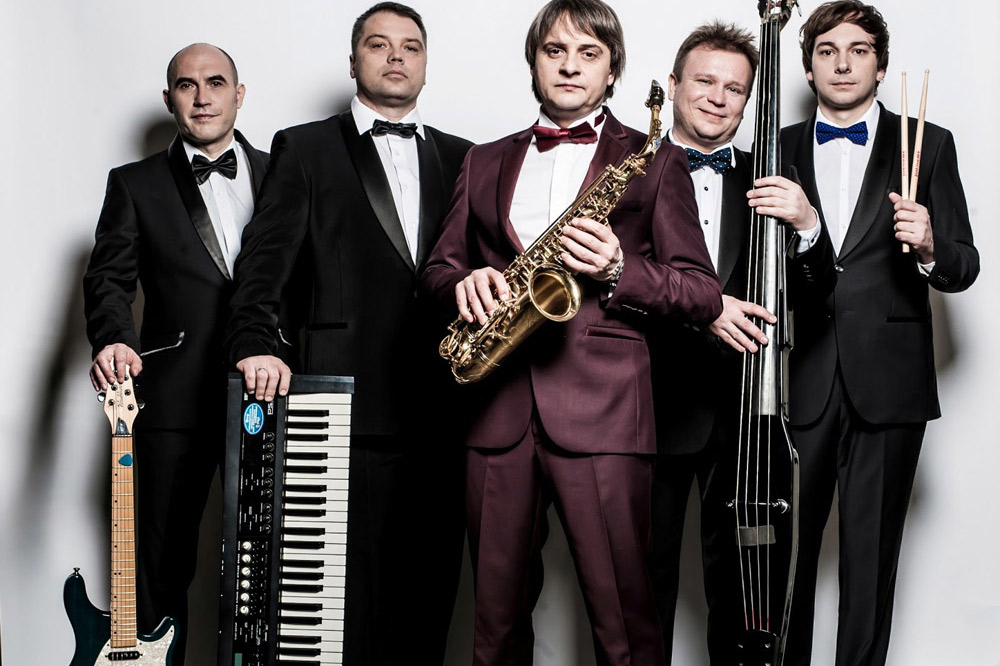 Джаз бэнд в Москве
